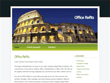 Tablet Preview of office-refits.co.uk